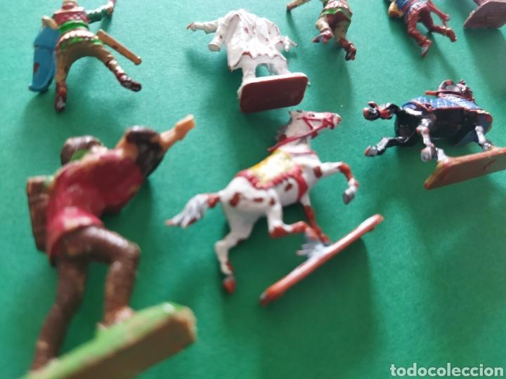 Figuras de Goma y PVC: Lote de 12 pequeñas figuritas antiguas varias marcas , Exin, Comansi.. - Foto 11 - 263149185
