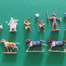Figuras de Goma y PVC: LOTE DE 12 PEQUEÑAS FIGURITAS ANTIGUAS VARIAS MARCAS , EXIN, COMANSI... Lote 263149185