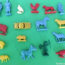 Figuras de Goma y PVC: LOTE DE 17 FIGURAS DUNKIN Y SIMILARES. Lote 263156860