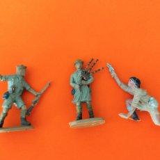 Figuras de Goma y PVC: LOTE DE 5 ANTIGUOS SOLDADITOS. Lote 263165740