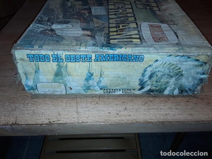 Figuras de Goma y PVC: Comansi fuerte, todo el oeste americano, ref 222, caja grande. - Foto 24 - 160807646