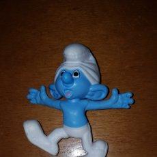 Figuras de Goma y PVC: FIGURA PITUFOS PITUFO PATOSO SMURFS PEYO MUÑECO COLECCIÓN DIBUJOS ANIMADOS MCDONALD'S MCDONALD. Lote 263167015
