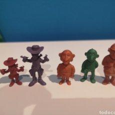 Figuras de Goma y PVC: FIGURAS DUNKIN LUCKY LUKE. Lote 263174255