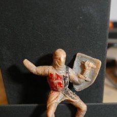 Figure di Gomma e PVC: CRUZADO CRISTIANO JINETE MEDIEVAL CID CAMPEADOR COMO SE VE. Lote 263186020