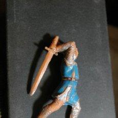 Figure di Gomma e PVC: FIGURA CRUZADO MEDIEVAL CID CAMPEADOR DEFECTUOSA COMO SE VE. Lote 263187050