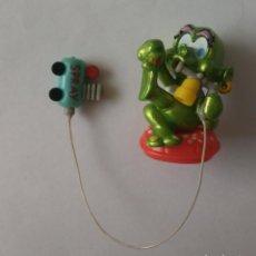 Figuras Kinder: SPACY VARIANTE ALIEN SPACIES MUÑECO KINDER ALIENS EXTRALUNATI EXTRA LUNATI LUNATTI ALCACHOFA. Lote 263246610