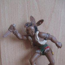 Figuras de Borracha e PVC: FIGURA ANTIGUA LAFREDO SERIE GRANDE, INDIO ( PECH , JECSAN , REAMSA , COMANSI , LAFREDO , ETC). Lote 263565460