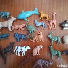 Figuras de Goma y PVC: LOTE DE ANIMALES DE DISTINTAS MARCAS-PLASTICO Y GOMA. Lote 263593960