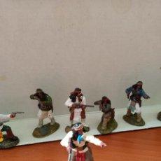 Figuras de Goma y PVC: APACHES REAMSA. Lote 263729710
