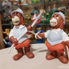 Figuras de Goma y PVC: OCASION COLECCIONISTAS ! DOS MUÑECOS FIGURAS GOMA PVC AÑOS 80 90 STAR TOYS BRB SOLDADOS DE DARTACAN. Lote 263754965