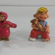 Figuras de Borracha e PVC: LOTE DE DOS FIGURITAS PVC COMICS SPAIN O SIMILAR ET DANIEL EL TRAVIESO. Lote 264025905