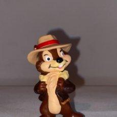 Figurines en Caoutchouc et PVC: WALT DISNEY FIGURA PVC CHIP Y CHOP INDIANA JONES - DISNEY BULLY. Lote 264075425