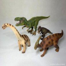 Figuras de Goma y PVC: LOTE DE 4 DINOSAURIOS SCHLEICH. Lote 264242108