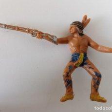 Figuras de Goma y PVC: FIGURA INDIO JECSAN AÑOS 60. Lote 264253420