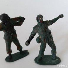 Figuras de Goma y PVC: FIGURAS SOLDADOS AÑOS 50 GOMA. Lote 264253856