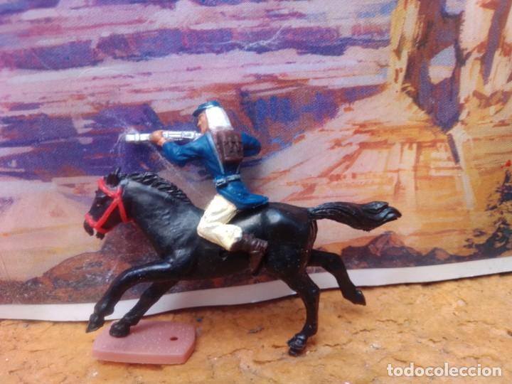 Figuras de Goma y PVC: Soldado y caballo de la Legión extranjera lafredo - Foto 2 - 264369954