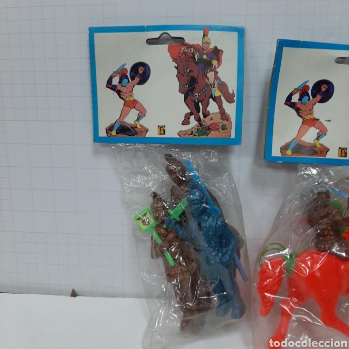 Figuras de Goma y PVC: Lote romanos pipero kiosko FER - Foto 2 - 264437174