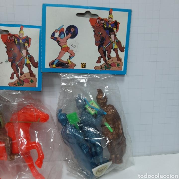 Figuras de Goma y PVC: Lote romanos pipero kiosko FER - Foto 4 - 264437174