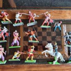 Figuras de Goma y PVC: FIGURAS BRITAINS TIPO REAMSA PECH LAFREDO. Lote 264514504