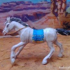 Figuras de Goma y PVC: CABALLO INDIO DE JECSAN. Lote 264563679