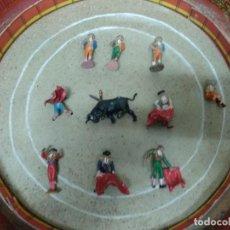 Figuras de Goma y PVC: PLAZA TOROS TEIXIDO GRANDE.. Lote 264783444