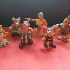 Figuras de Borracha e PVC: COMICS SPAIN. ASTERIX. LOTE DE 6 FIGURAS. Lote 264836594