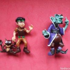 Figuras de Borracha e PVC: COMICS SPAIN. SERIE LA CORONA MAGICA. 2 FIGURAS.. Lote 264840219