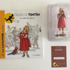 Figurines en Caoutchouc et PVC: TINTIN FIGURA LIBRO PASAPORTE - CASTAFIORE - 6. Lote 264844339