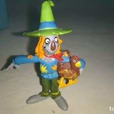 Figuras de Goma y PVC: FIGURA EL MAGO DE OZ ESPANTAPAJAROS GOMA PVC COMICS SPAIN AÑOS 80. Lote 264969439