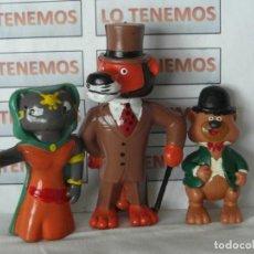 Figuras de Goma y PVC: LOTE DE 3 MUÑECOS EN PVC DE LA VUELTA AL MUNDO EN 80 DIAS, WILLY FOG, ROMY, RIGODON.. Lote 265122359