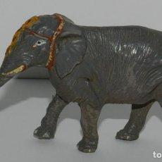 Figuras de Goma y PVC: ELEFANTE DEL GRAN CIRCO DE JECSAN, FABRICADO EN GOMA, EN BUEN ESTADO GENERAL.. Lote 265145459