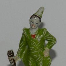 Figuras de Goma y PVC: PAYASO DEL CIRCO. REALIZADO POR JECSAN. AÑOS 50 EN GOMA.. Lote 265149564