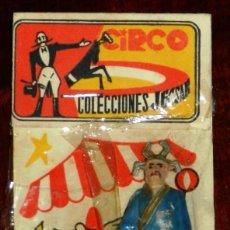 Figuras de Goma y PVC: FIGURA DE MAGO CHINO. SERIE CIRCO. REALIZADO POR JECSAN EN SU EMBALAJE ORIGINAL. AÑOS 50 EN GOMA.. Lote 265150919