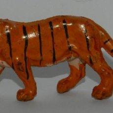 Figuras de Goma y PVC: FIGURA DE TIGRE. REALIZADO POR LAFREDO. ORIGINAL AÑOS 50 EN GOMA.. Lote 265153354