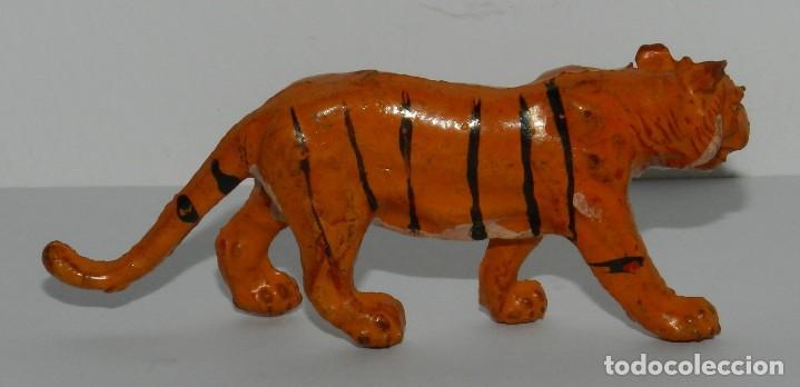 Figuras de Goma y PVC: FIGURA DE TIGRE. REALIZADO POR LAFREDO. ORIGINAL AÑOS 50 EN GOMA. - Foto 2 - 265153354