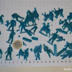 Figuras de Goma y PVC: LOTE SOLDADOS PLANOS - DE 4 CENTÍMETROS / ANTIGUOS - PLÁSTICO / PVC - ¡MIRA, MUY RAROS! - LOTE 02. Lote 265219779