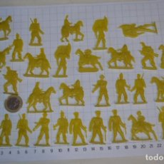 Figuras de Goma y PVC: LOTE SOLDADOS PLANOS - DE 4 CENTÍMETROS / ANTIGUOS - PLÁSTICO / PVC - ¡MIRA, MUY RAROS! - LOTE 05. Lote 265322114
