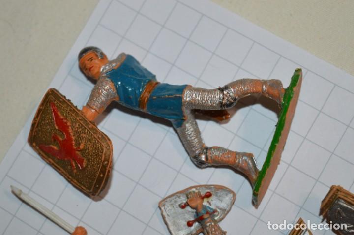 Figuras de Goma y PVC: Lote CAPITÁN TRUENO, VIKINGOS y OTROS / Antiguos - Plástico / PVC - ¡Mira, muy, muy difíciles! - Foto 13 - 265334849