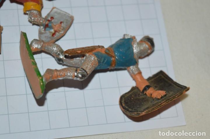Figuras de Goma y PVC: Lote CAPITÁN TRUENO, VIKINGOS y OTROS / Antiguos - Plástico / PVC - ¡Mira, muy, muy difíciles! - Foto 14 - 265334849