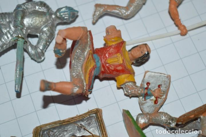 Figuras de Goma y PVC: Lote CAPITÁN TRUENO, VIKINGOS y OTROS / Antiguos - Plástico / PVC - ¡Mira, muy, muy difíciles! - Foto 15 - 265334849