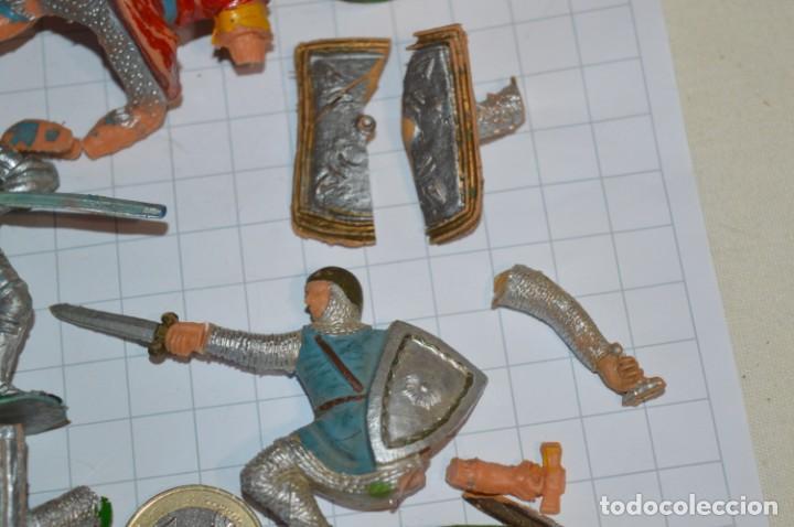 Figuras de Goma y PVC: Lote CAPITÁN TRUENO, VIKINGOS y OTROS / Antiguos - Plástico / PVC - ¡Mira, muy, muy difíciles! - Foto 20 - 265334849