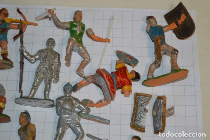 Figuras de Goma y PVC: Lote CAPITÁN TRUENO, VIKINGOS y OTROS / Antiguos - Plástico / PVC - ¡Mira, muy, muy difíciles! - Foto 21 - 265334849