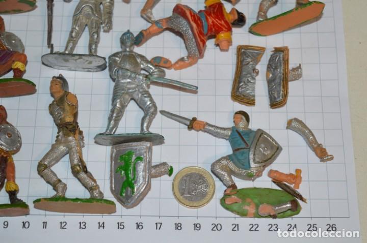 Figuras de Goma y PVC: Lote CAPITÁN TRUENO, VIKINGOS y OTROS / Antiguos - Plástico / PVC - ¡Mira, muy, muy difíciles! - Foto 22 - 265334849