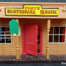 Figuras de Borracha e PVC: JECSAN CASAS DEL OESTE BANK. Lote 265372174