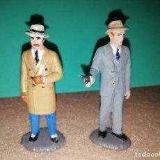 Figuras de Goma y PVC: AL CAPONE Y ELLIOTT NESS. Lote 265560229