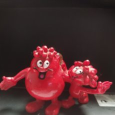 Figuras de Borracha e PVC: FIGURA GOMA GLÓBULO ROJO ÉRASE UNA VEZ LA VIDA COMICS SPAIN. Lote 265562744