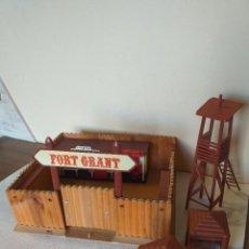 Figuras de Goma y PVC: FUERTE FORT GRANT Y OFICINA SHERIFF COMANSI. Lote 265772554