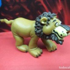Figuras de Borracha e PVC: FIGURA PVC LEON MAGO DE OZ COMICS SPAIN VINTAGE AÑOS 80 EN MUY BUEN ESTADO. Lote 265852319