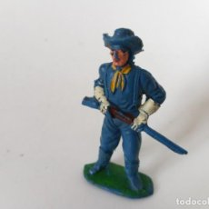 Figuras de Goma y PVC: FIGURA SOLDADO FEDERAL JECSAN. Lote 266109648
