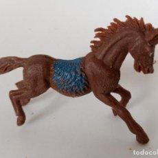 Figuras de Goma y PVC: FIGURA CABALLO INDIO JECSAN. Lote 266109693
